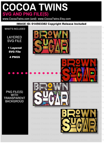 Digital Download  - Brown Sugar