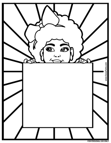 Digital Coloring Page | As Seen on Michaels | PNG and PDF Formats | FREE