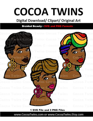 Digital Download  - Braided Beauty