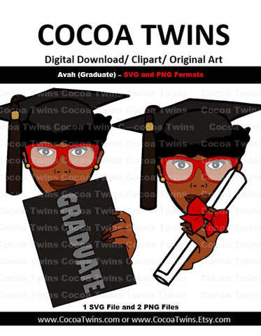 Digital Download  -  Avah with Diploma