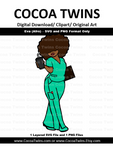 Digital Download  - Nurse Eva - SVG Layered File and PNG File Format