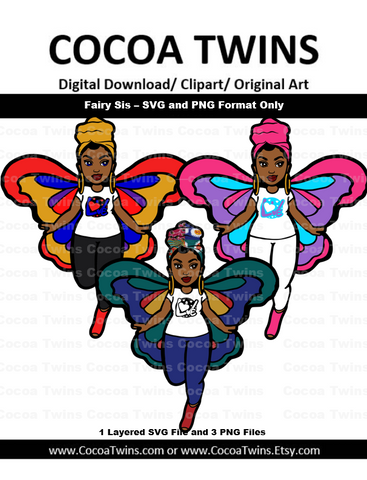 Digital Download  - Fairy Sis