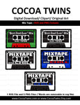 Digital Download - Mixtape - SVG Layered File and PNG File Format