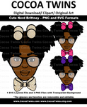 Digital Download  - Cute Nerd Brittney