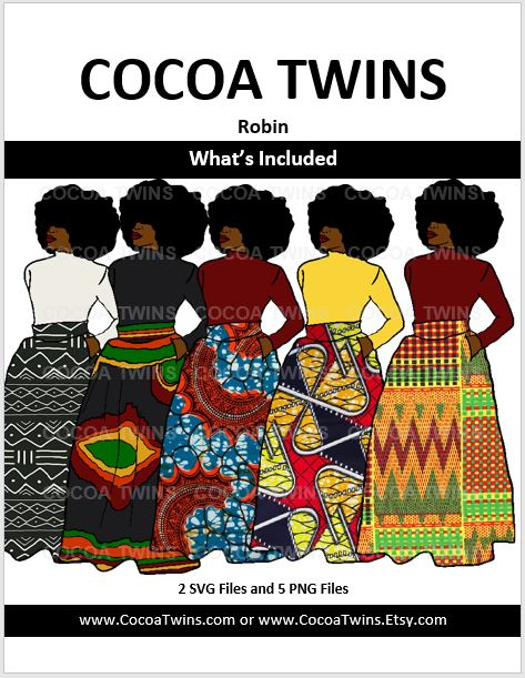 Digital Download  - Robin - SVG and PNG Formats - Cocoa Twins