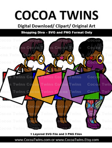 Digital Download - Shopping Diva