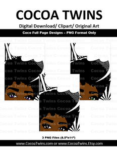 Digital Download - Coco Full Page Designs