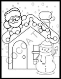 2020 Cocoa Twins Holiday Coloring Book (E-book Version)