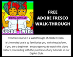 Cocoa Twins DigiArt Club | Free Adobe Fresco Walkthrough