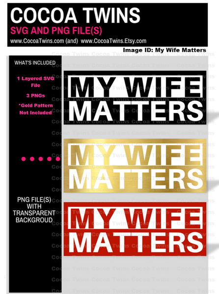 Digital Download  - My Wife Matters