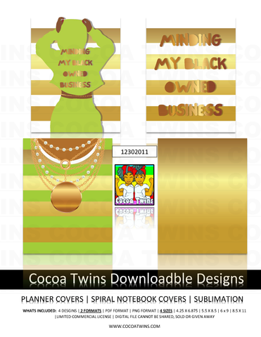 12302011 Digital Download  - Printable and Downloadable Designs | Planner Covers | Spiral Notebooks | Sublimation | Travel Mugs | TShirts and More!