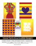 12302012 Digital Download  - Printable and Downloadable Designs | Planner Covers | Spiral Notebooks | Sublimation | Travel Mugs | TShirts and More!