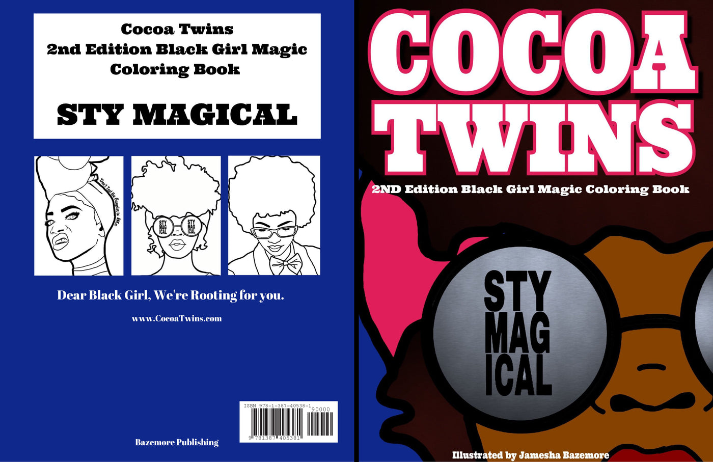 Cocoa Twins - 2nd Edition Coloring Book - Stay Magical
