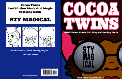 Cocoa Twins - 2nd Edition Coloring Book - Stay Magical (Print Version Only)