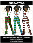 Digital Download  - Minyon - SVG Layered File and PNG File Format - Cocoa Twins