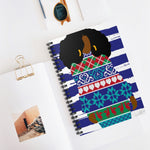 01C Cocoa Twins Ugly Sweater Spiral Notebook - Ruled Line