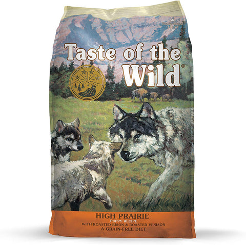 Taste of the Wild Grain-Free High Prairie Puppy Formula Dry Food
