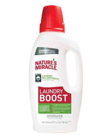 Nature's Miracle Laundry Stain and Odor Additive Bio-Enzymatic Formula for Pets
