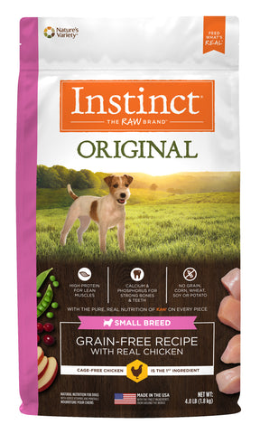 Instinct® Original Grain-Free Recipe with Real Chicken for Small Breed Dogs