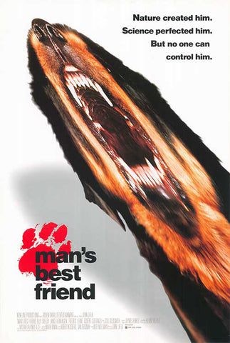 man's best friend movie poster