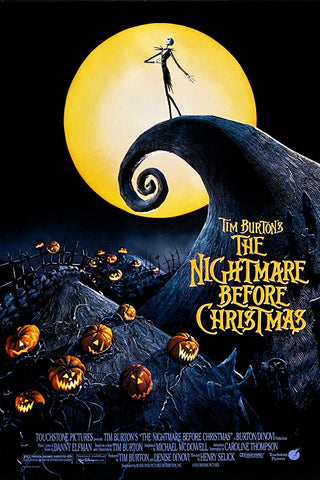 The Nightmare Before Christmas movie poster