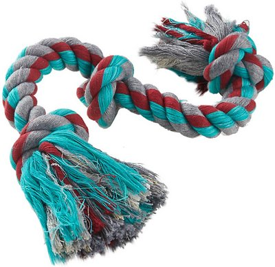 Mammoth Cottonblend 3 Knot Dog Rope Toy
