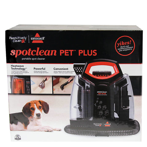 Bissell® Pawsitively Clean® Spotclean Pet Plus Portable Spot Cleaner