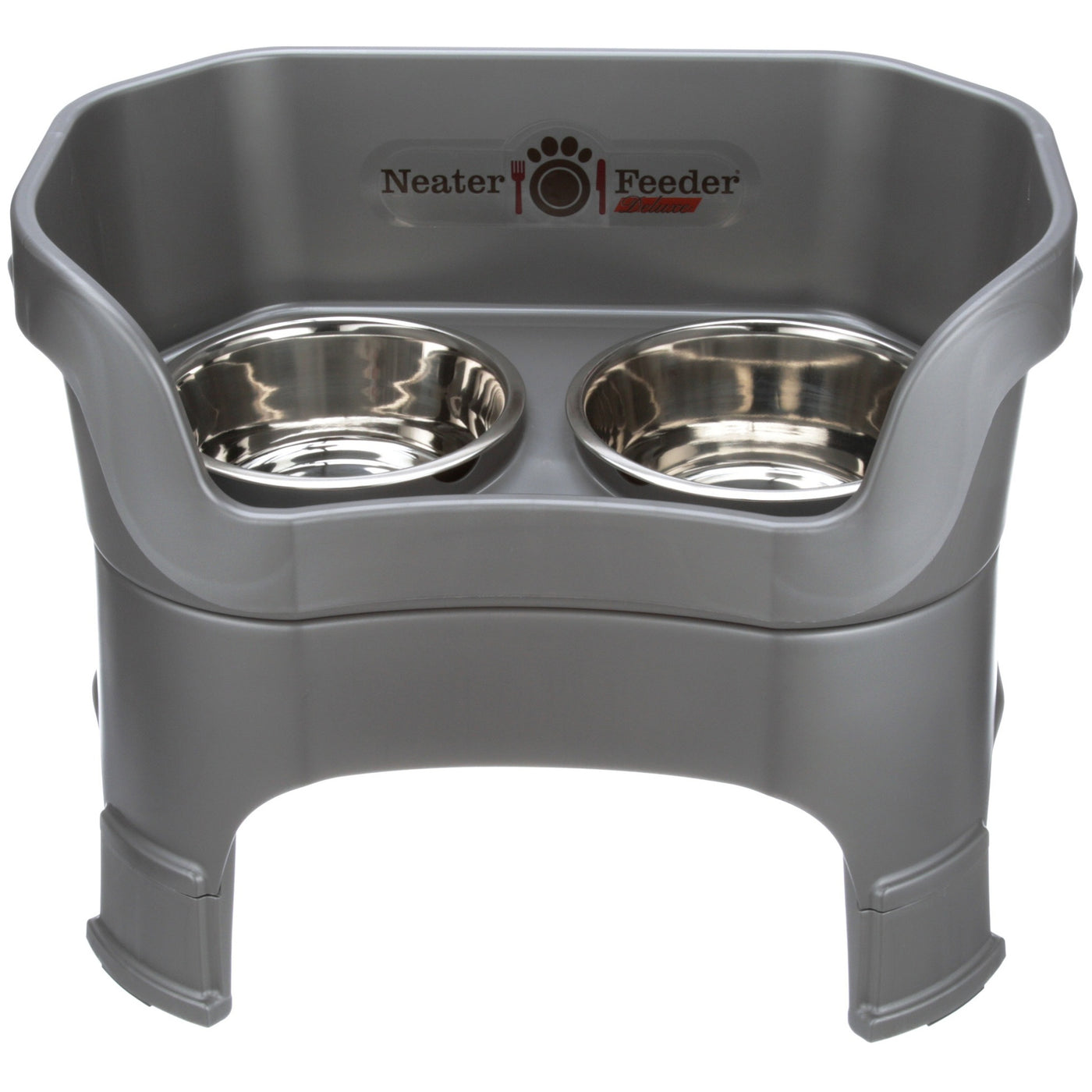 Lower Price with Neater Feeder Deluxe Small Dog The Mess Proof Elevated Bowls No cranberry