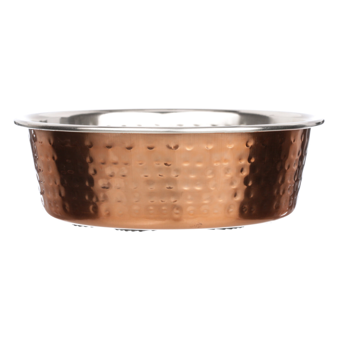 Hammered Copper Finish Bowls