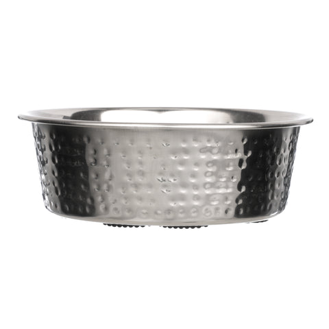 Hammered Stainless Steel Bowls
