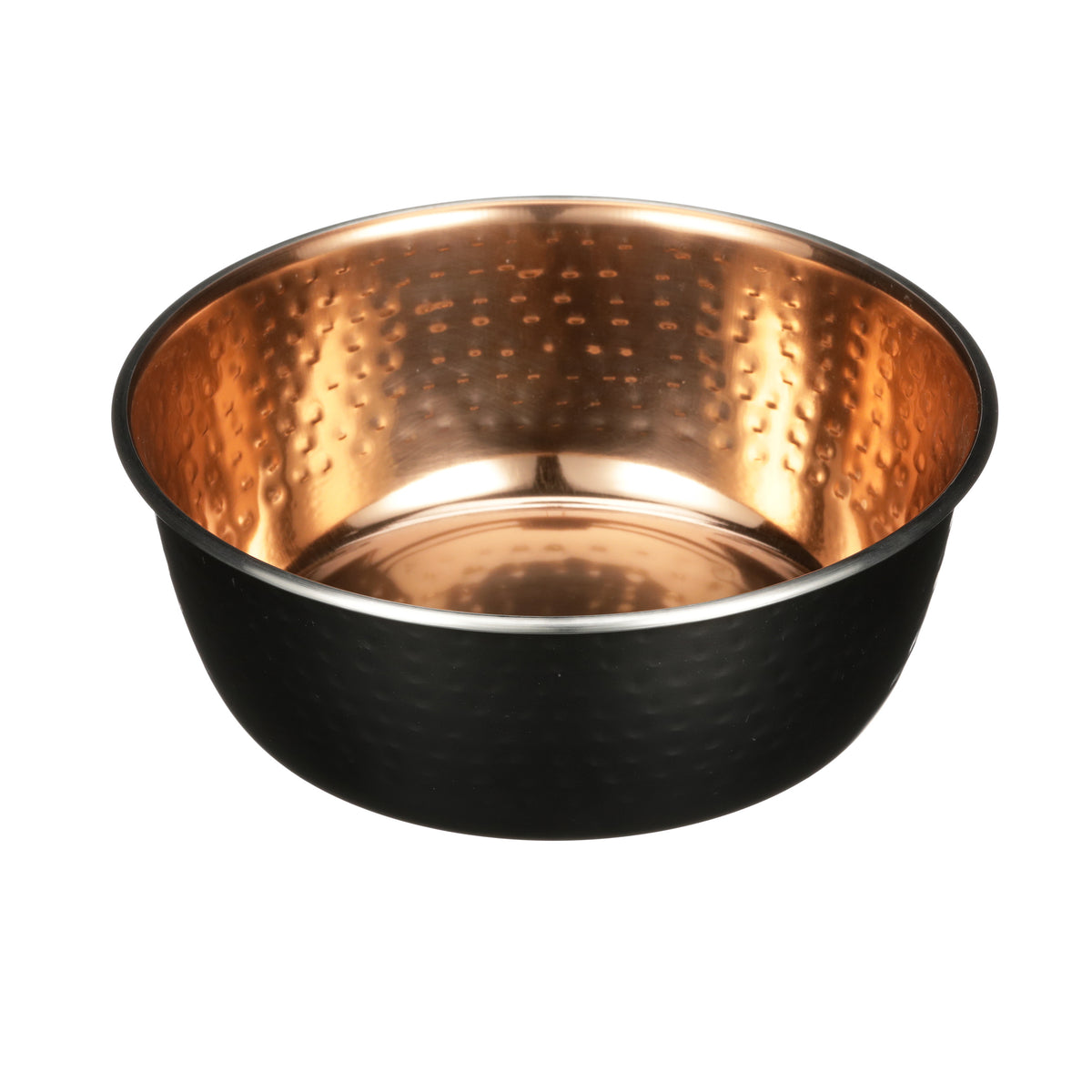 Black Hammered Copper Finish Bowls
