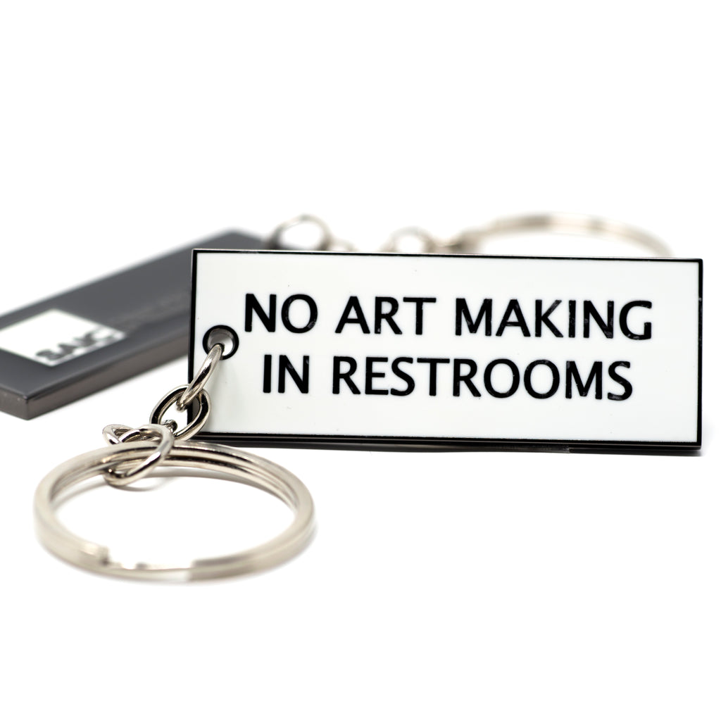 No Art Making Keychain