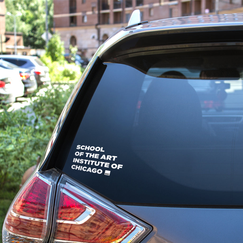 SAIC Car Decal