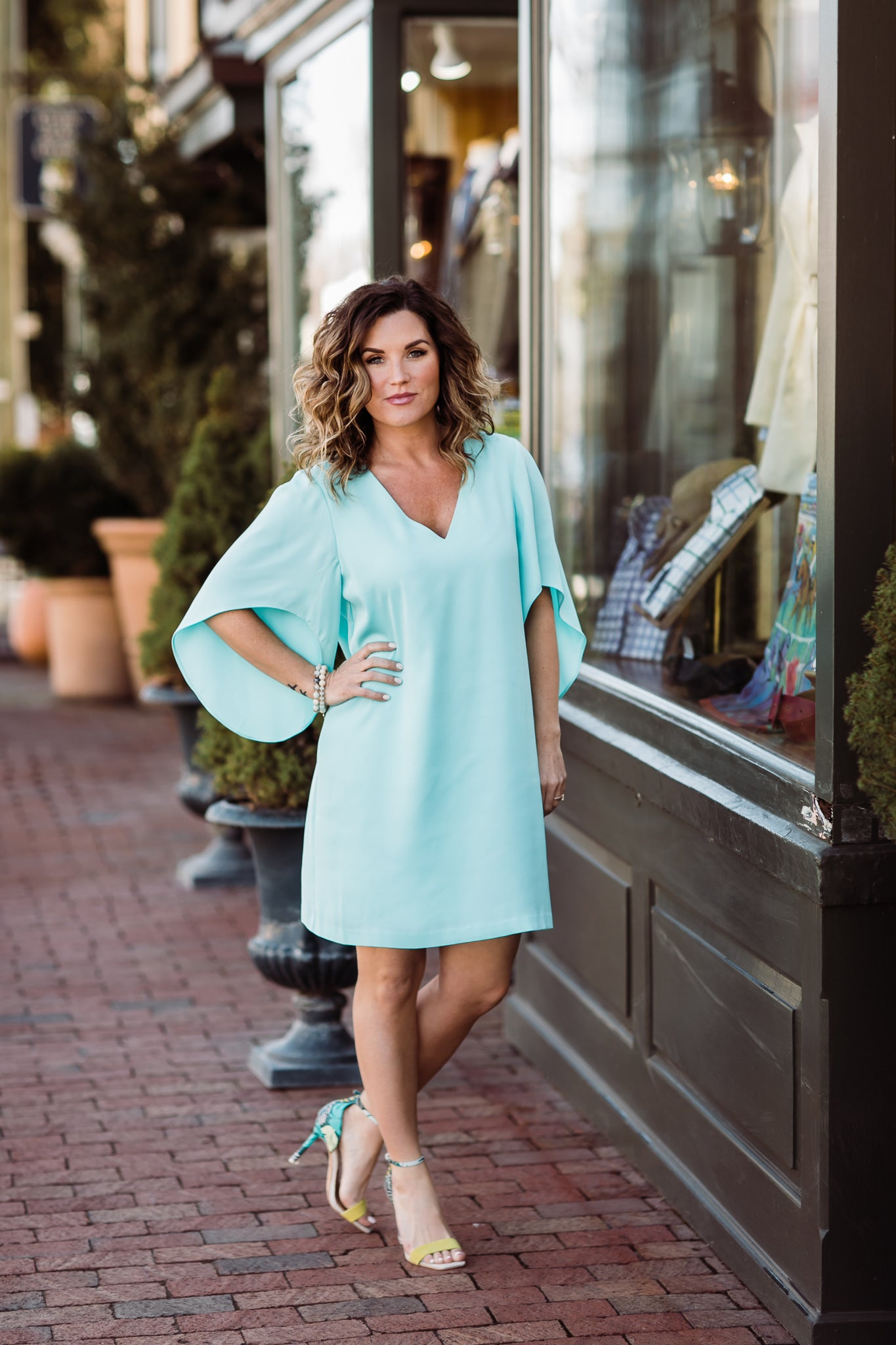 Anna Cate Meredith Dress- Aruba