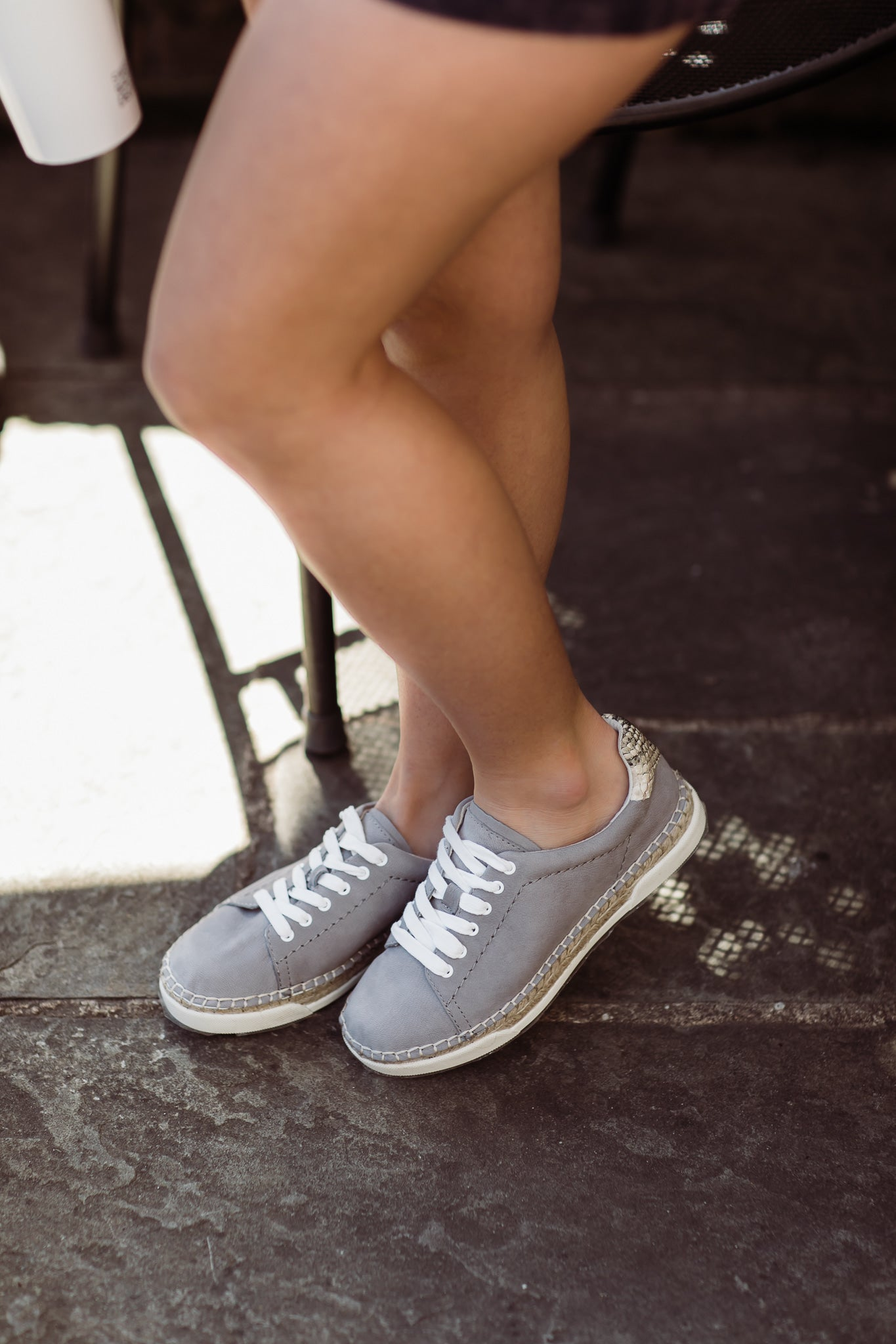 Dolce Vita Madox Sneakers- Grey