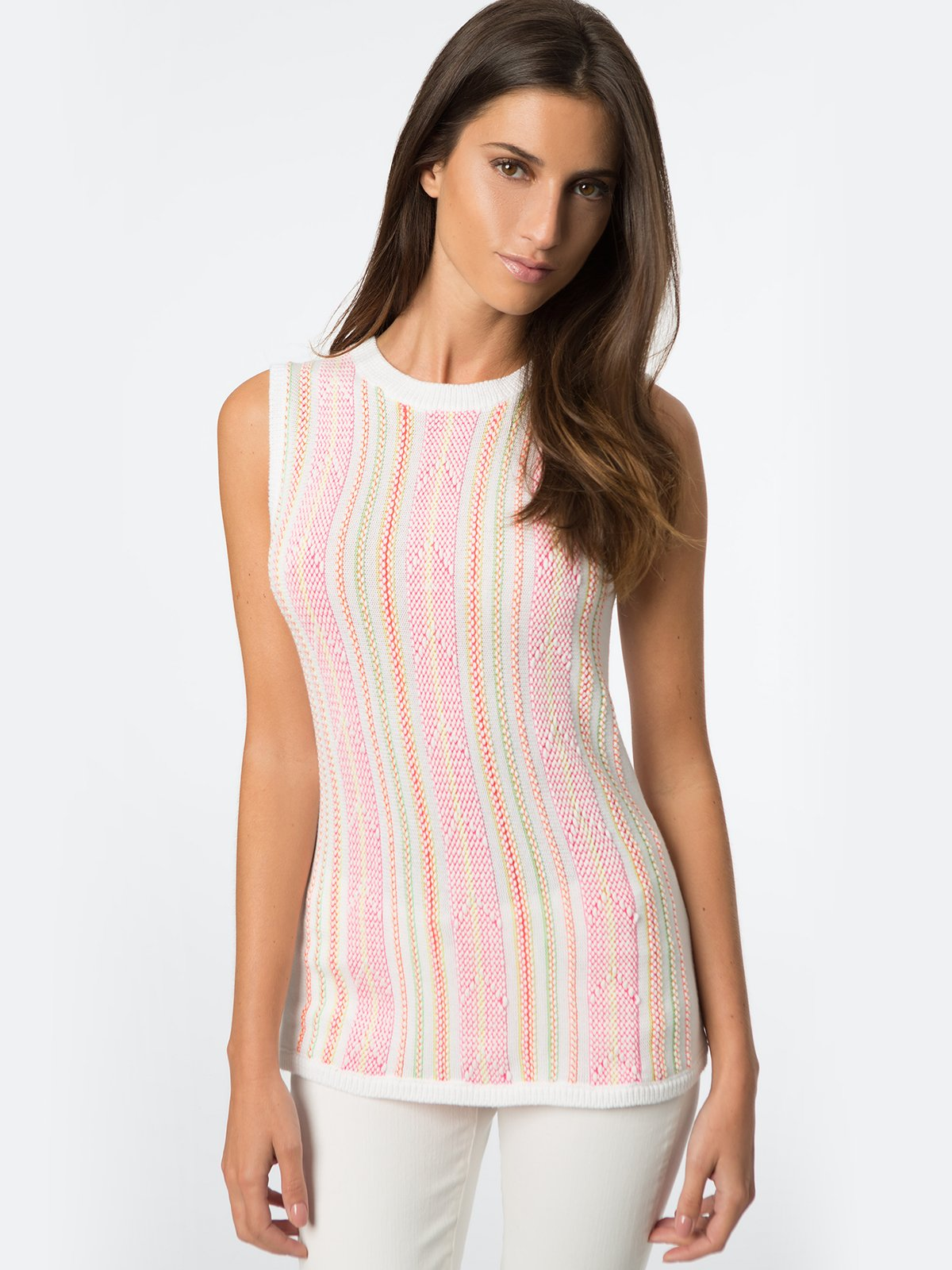 525 America Neon Knit Shell