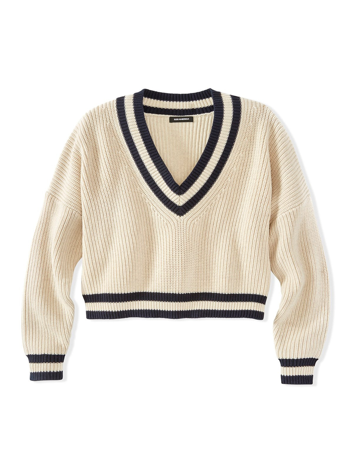 525 America Cotton Shaker Varsity Sweater