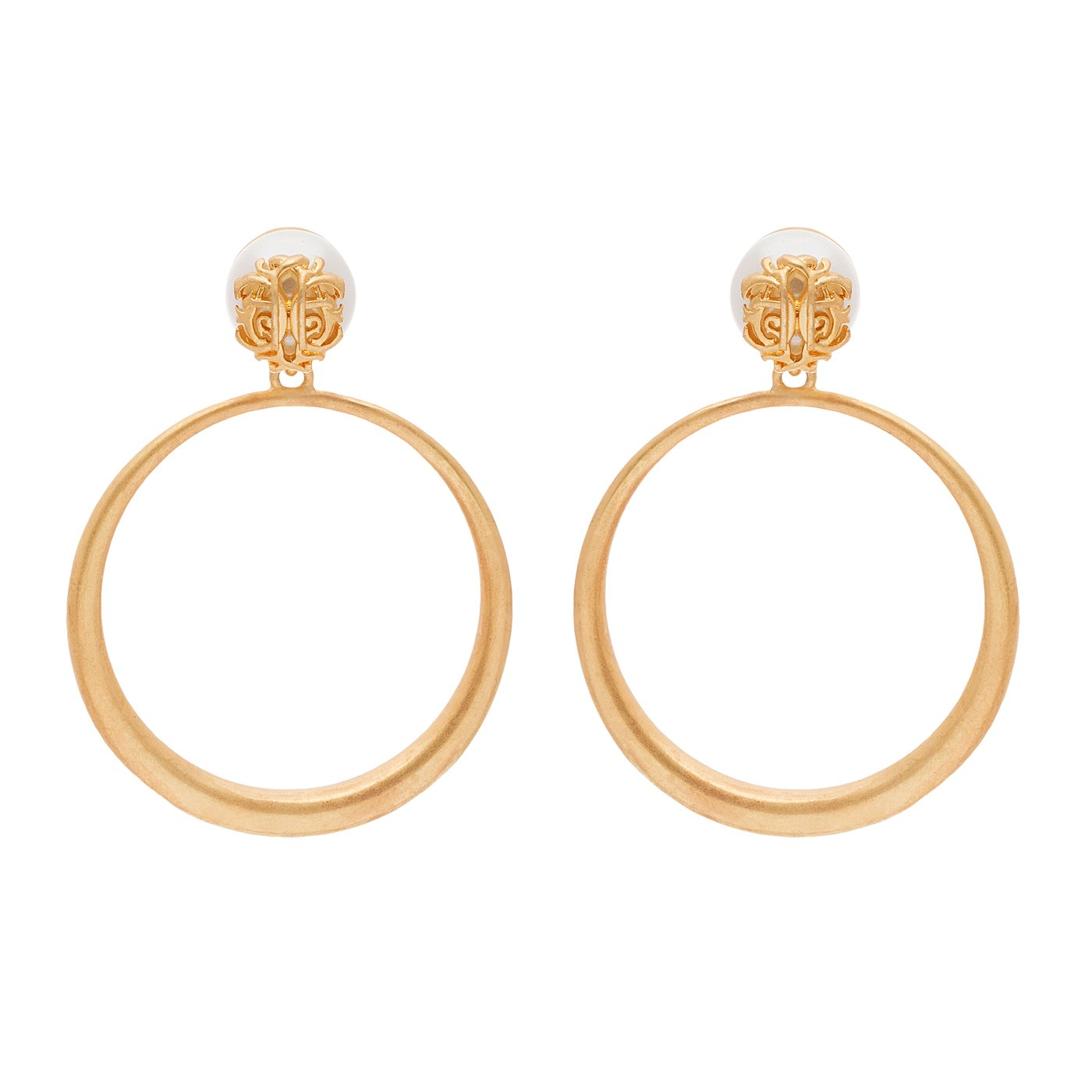 Anna Cate Melanie Hoop Earrings
