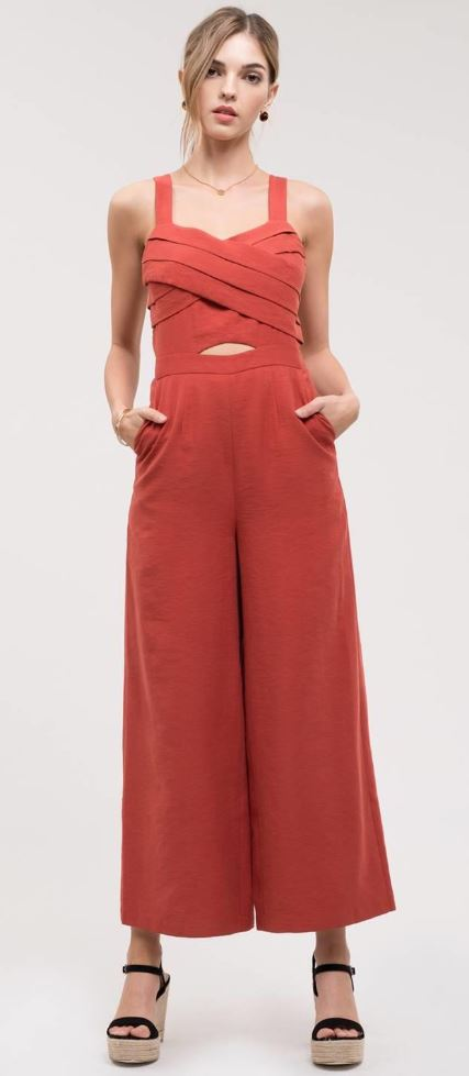 JOA Long Jumpsuit