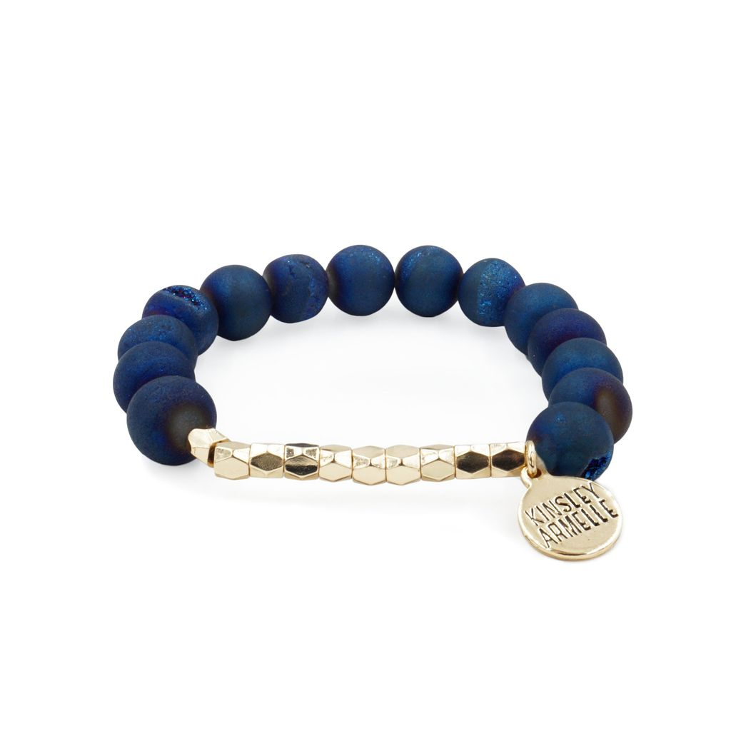 Kinsley Armelle Burst Collection Indigo Bracelet