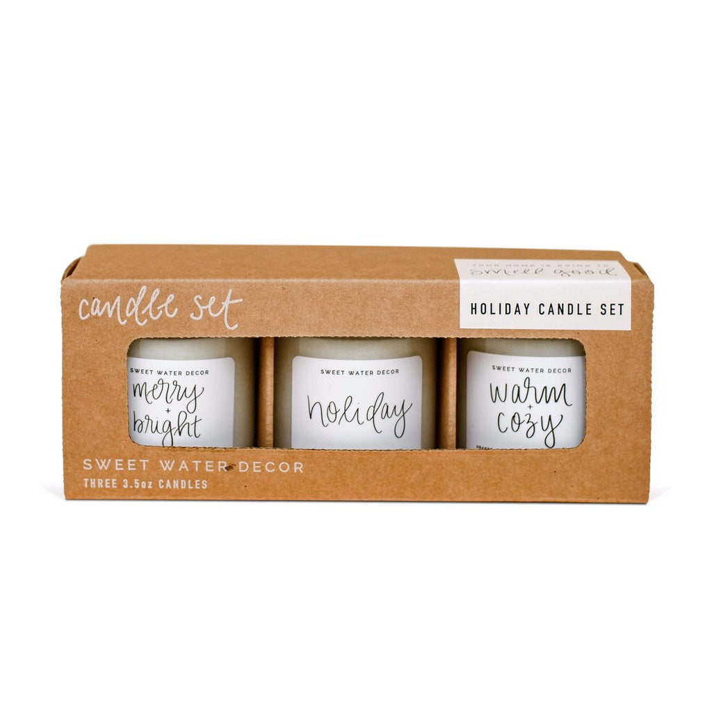 SWD Holiday Mini Soy Candle Set
