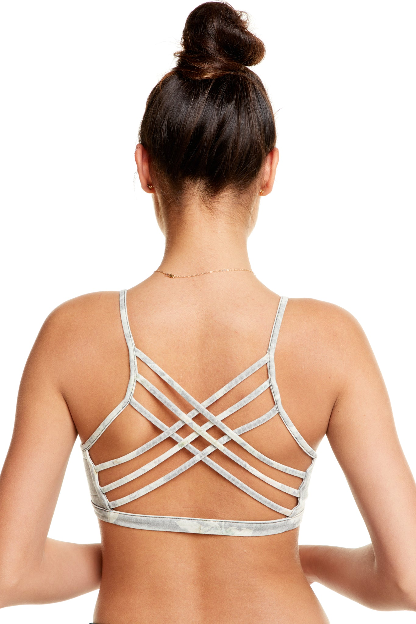 Chaser Quadrablend Strappy Cross Back Bralette