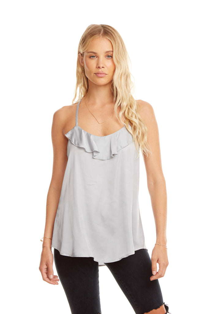 Chaser Silky Ladder Back Cami
