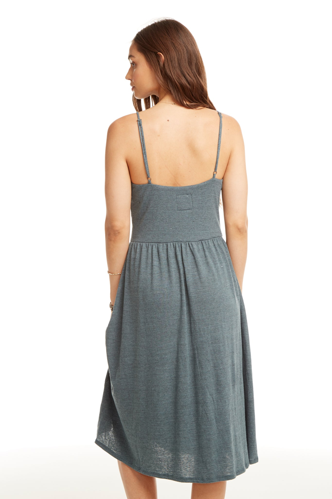 Chaser Triblend Cami Skater Dress