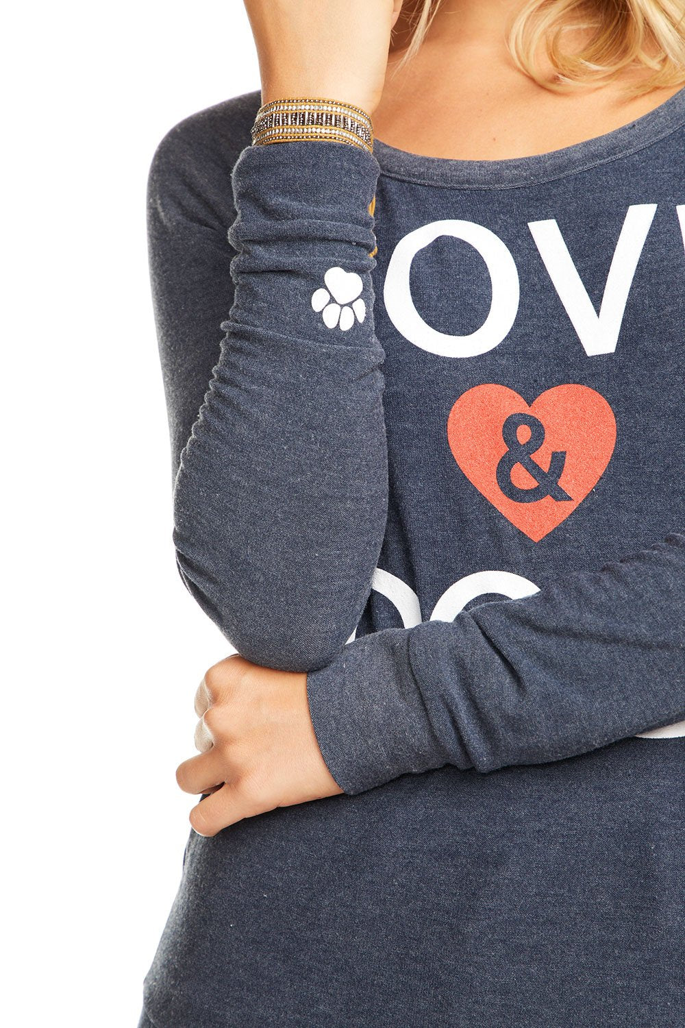 Chaser Love and Dogs Sweatshirt