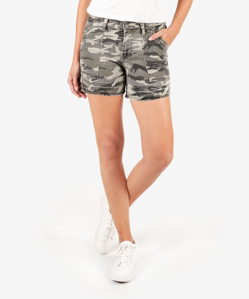 KUT Alice Short- Camo (hide)
