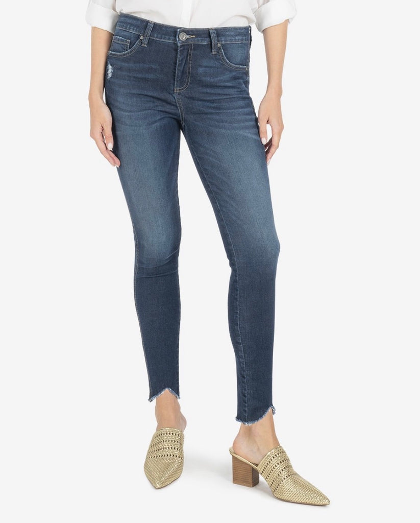 KUT Connie High Rise Skinny- Hello Wash