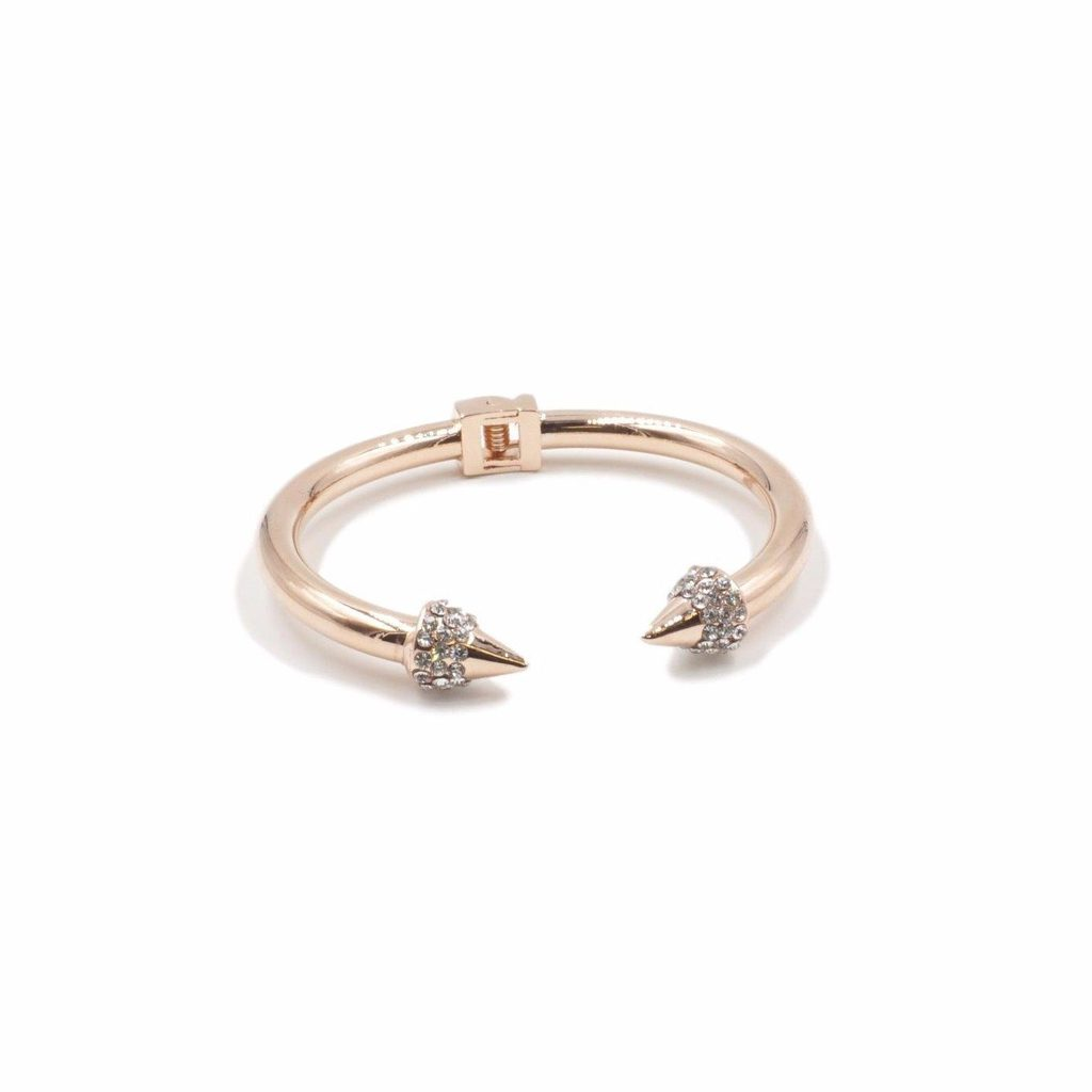 Kinsley Armelle Rose Gold Bling Bracelet