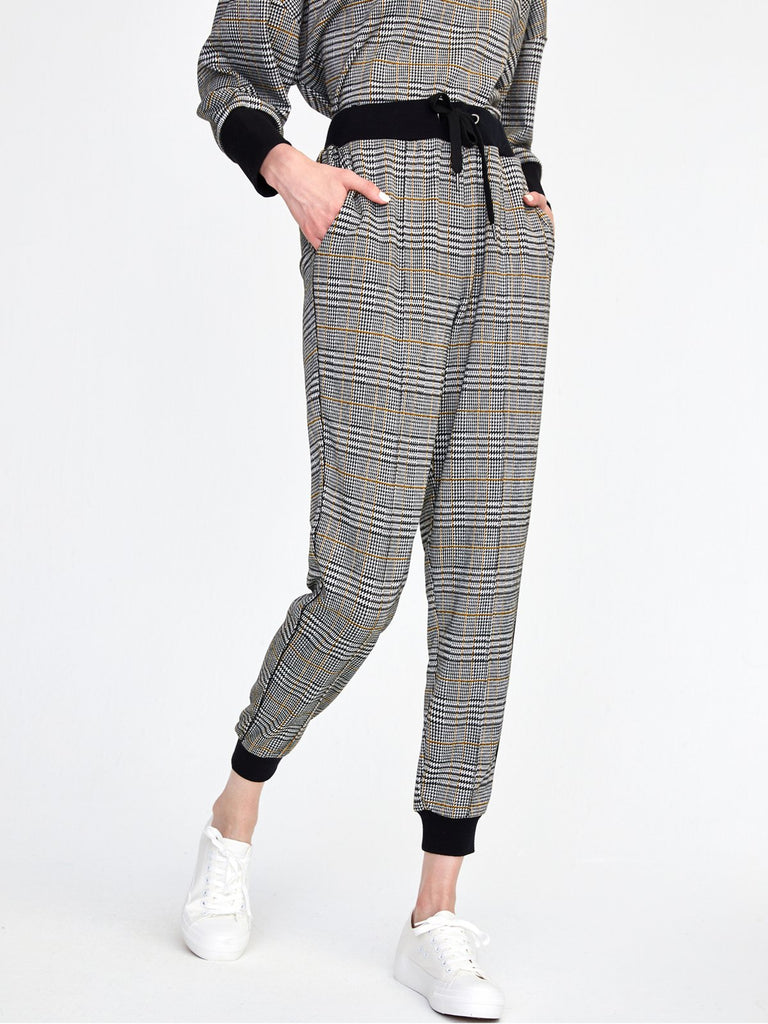 525 America Glen Plaid Jogger