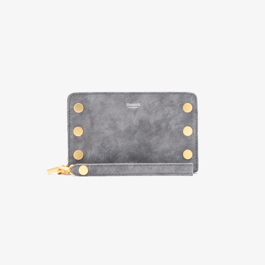 Hammitt 395 North Wallet- Slate/Silver